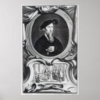 Edward Seymour, 1st Duke of Somerset Poster