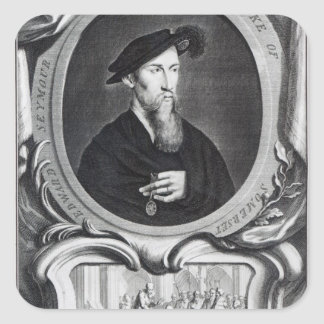 Edward Seymour, 1st Duke of Somerset Square Sticker