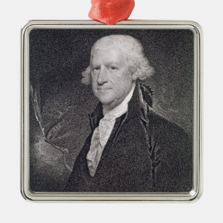Edward Shippen (1729-1806) engraved by Edward Well Metal Ornament