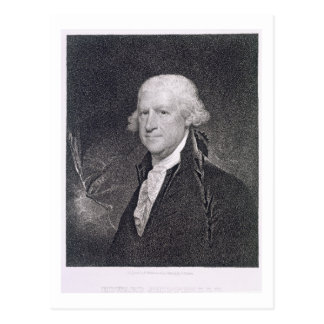 Edward Shippen (1729-1806) engraved by Edward Well Postcard