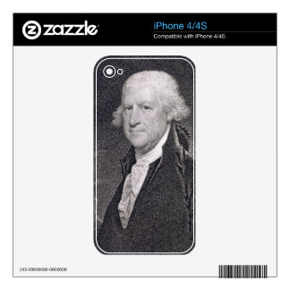Edward Shippen (1729-1806) engraved by Edward Well iPhone 4 Skins