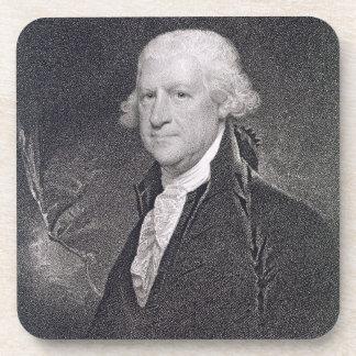 Edward Shippen (1729-1806) grabado por el pozo de  Posavasos De Bebidas