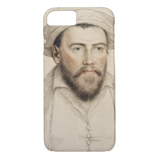 Edward Stanley Earle of Darby (1508-1572) engraved iPhone 8/7 Case