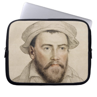 Edward Stanley Earle of Darby (1508-1572) engraved Computer Sleeve