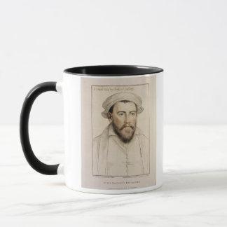 Edward Stanley Earle of Darby (1508-1572) engraved Mug