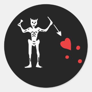 Edward Teach aka Blackbeard stickers