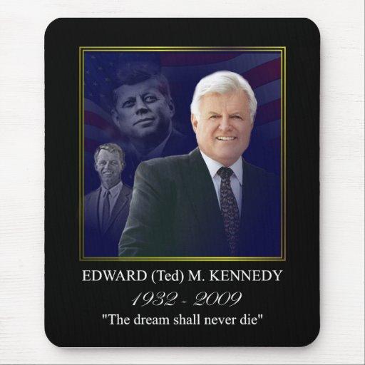 Edward (Ted) Kennedy - en Memorium Alfombrilla De Ratón