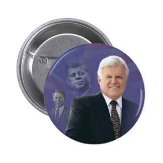 Edward (Ted) Kennedy - In Memorium Pinback Buttons
