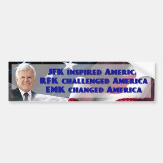 Edward Ted M Kennedy, senador de los E.E.U.U. Pegatina Para Auto