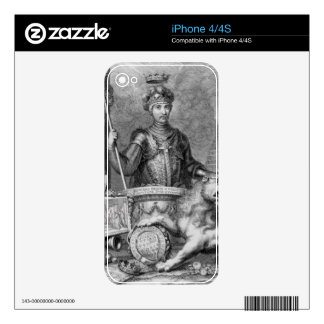 Edward The Black Prince (1330-76) after the monume iPhone 4S Skin