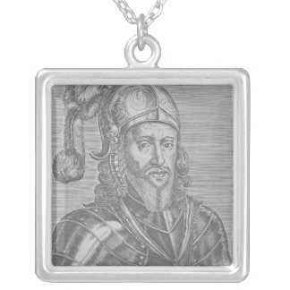 Edward, the Black Prince Silver Plated Necklace