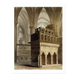 Edward the Confessor's Monument, plate M from 'Wes Postcard