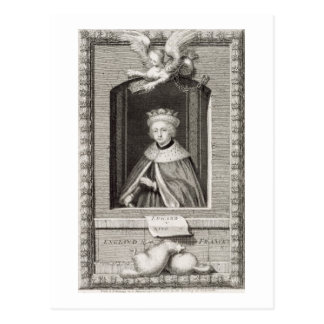 Edward V 1470-83 King of England in 1483 after Post Card