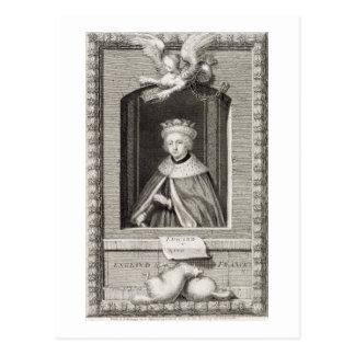 Edward V (1470-83) King of England in 1483, after Postcard