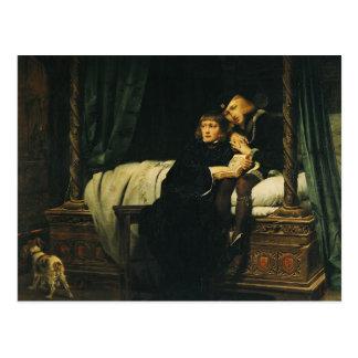 Edward V  and Richard, Duke of York in the Postcard