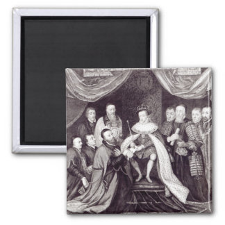 Edward VI Granting the Charter Magnet