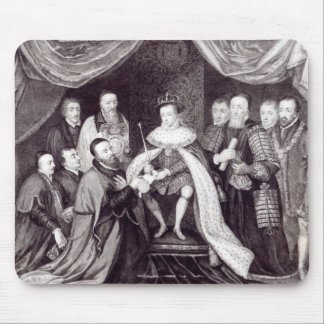 Edward VI Granting the Charter Mouse Pad
