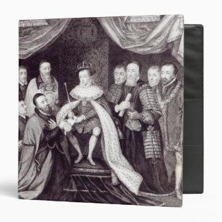 "Edward VI que concede la carta Carpeta 1 1/2"""