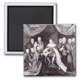 Edward VI que concede la carta Iman De Nevera