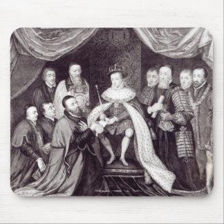 Edward VI que concede la carta Alfombrillas De Raton