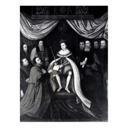 Edward VI Tarjeta Postal