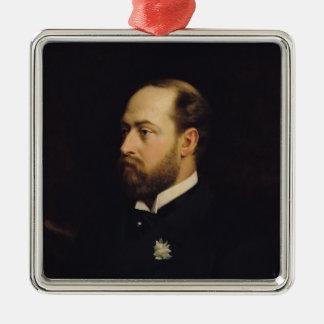 Edward VII Metal Ornament