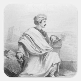 Edward William Lane as 'A Bedouin Arab', 1828 Sticker