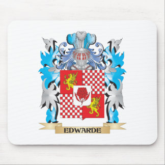 Edwarde Coat of Arms - Family Crest Mouse Pad