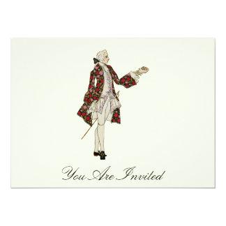 Edwardian Dandy  - Vintage Invites