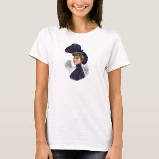Edwardian Gibson Girl Era Millinery Elegant Hat T-Shirt
