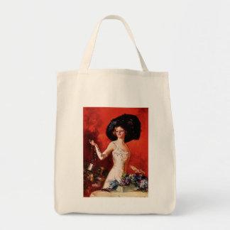 Edwardian Glamor Girl Tote Bag