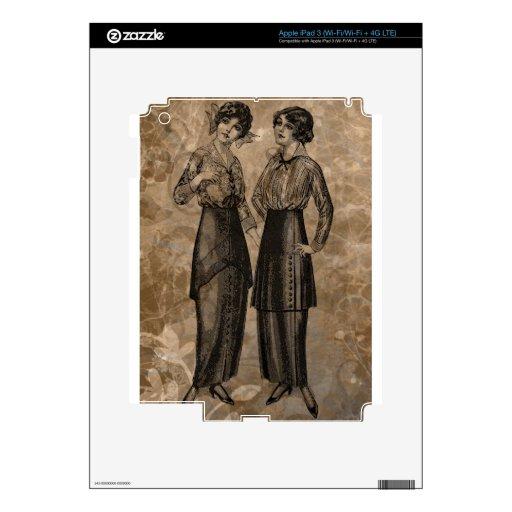 EDWARDIAN LADIES.jpg Pegatina Skin Para iPad 3