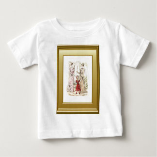 Edwardian ladies visiting a friend baby T-Shirt