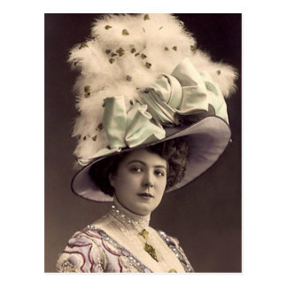 Edwardian Lady Postcard