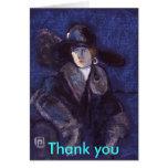 EDWARDIAN LADY, Thank you card