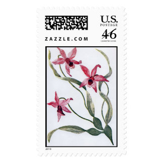 Edwardian Orchid Postage