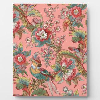Edwardian Parrot ~ Duchess Plaque