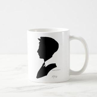 Edwardian Silhouette Coffee Mug