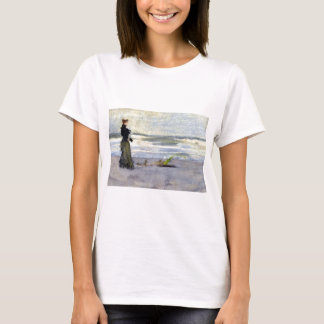 Edwardian Woman on Beach T-Shirt