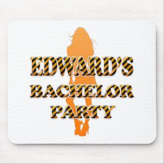 Edward's Bachelor Party Mouse Pad