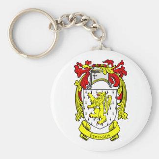 EDWARDS Coat of Arms Keychain