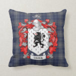 Edwards Family Coat of Arms - Wales Throw Pillows