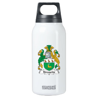 Edwards Family Crest Insulated Water Bottle