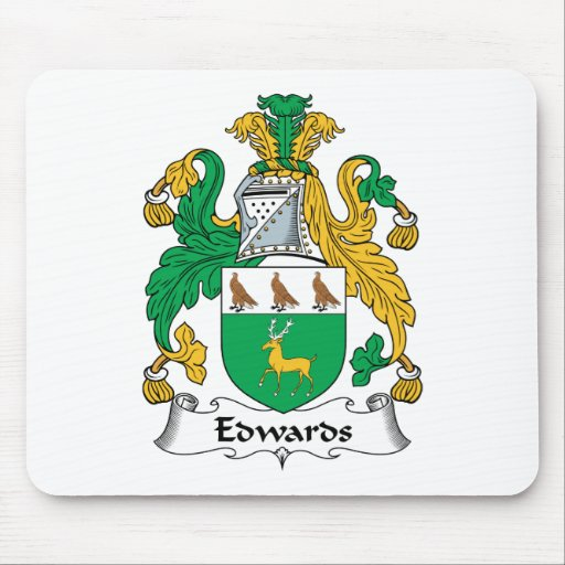 Edwards Family Crest Mouse Pad