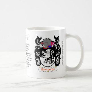 Edwards Family Crest Mug