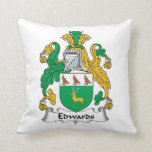 Edwards Family Crest Pillow