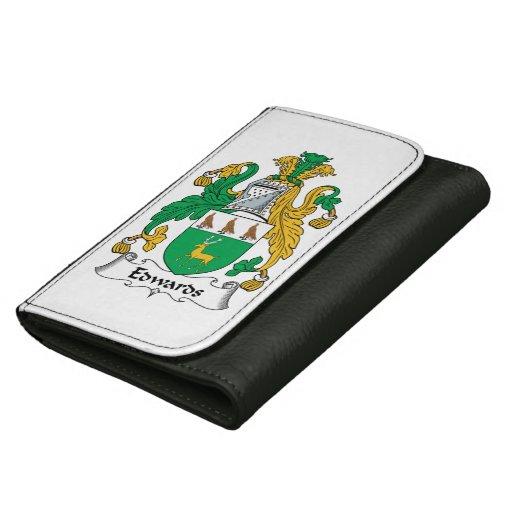 Edwards Family Crest Wallet For Women