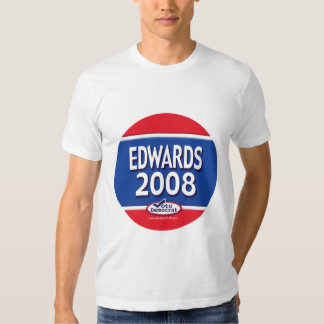 Edwards para presidente Shirt Remeras