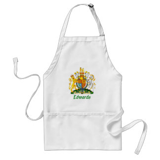 Edwards Shield of Great Britain Adult Apron