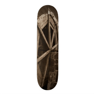Edwards Water Wheel Sepia Skateboard Deck